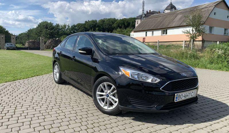 Ford Focus 2017 из США