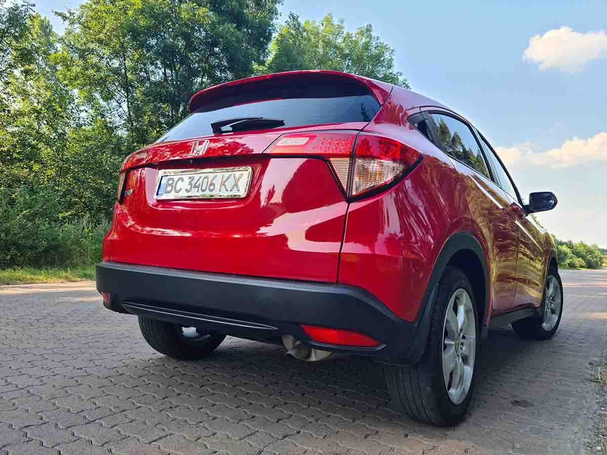 HONDA HR-V 2017 из США в Украине под ключ | Navigator Auto ...