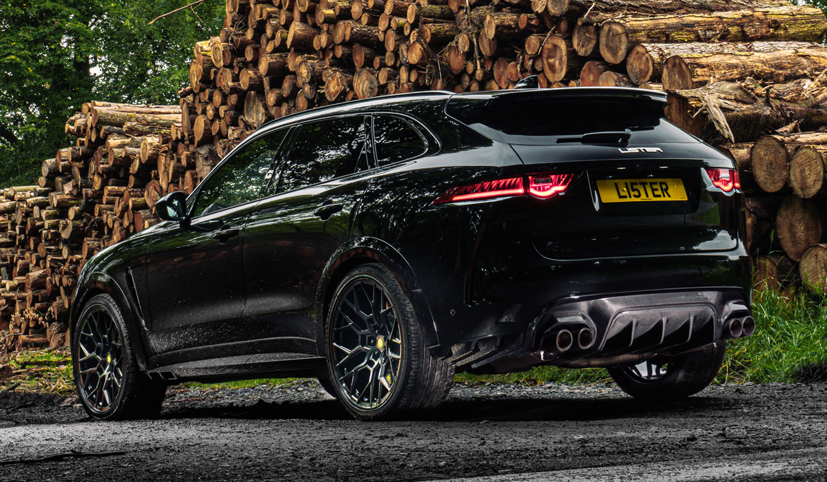 Автоновости Lister Stealth: 675-сильный кроссовер на базе Jaguar