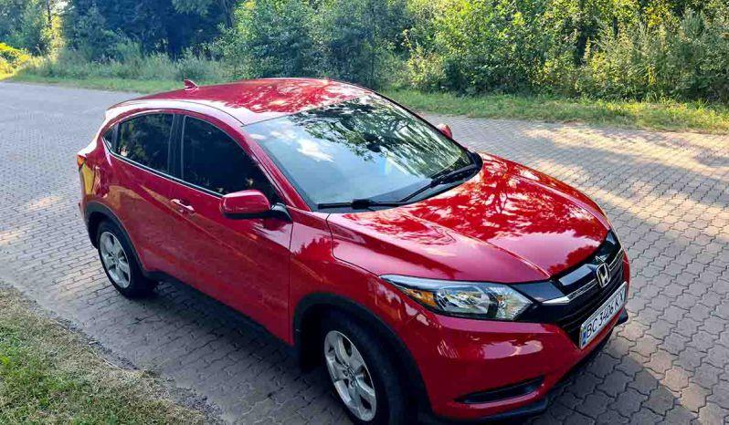 HONDA H-RV 2017 red в наличии в Украине
