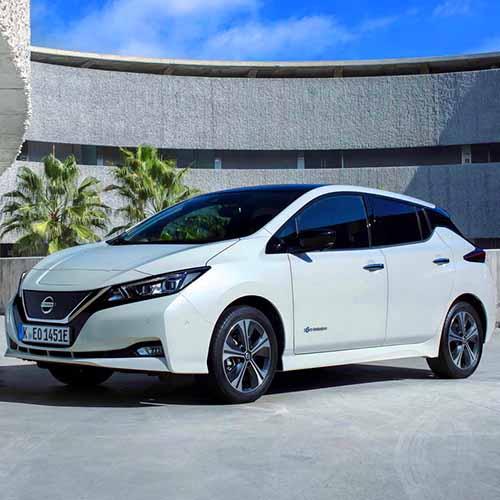 Электрокар Nissan Leaf 2017