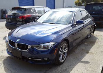 BMW 330 I Blue 2016 full