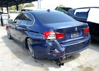 BMW 330 I Blue 2016 full