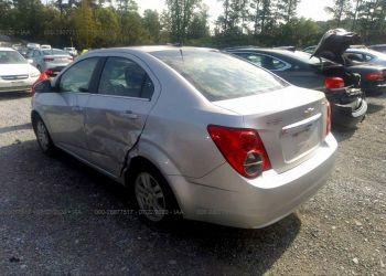 CHEVROLET SONIC LT 2014 full