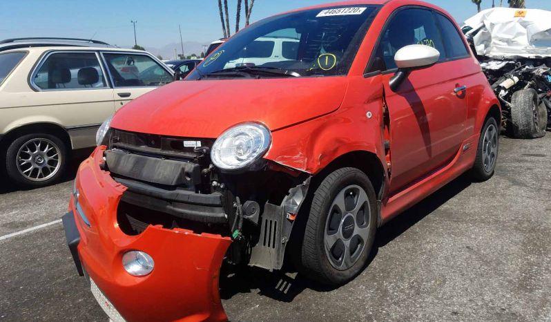 FIAT 500 ELECTRIC 2016 full