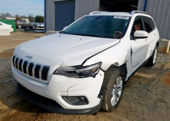 JEEP CHEROKEE LATITUDE 2019 white full
