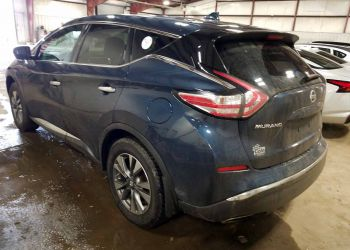 NISSAN MURANO S 2016 blue full