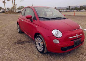 FIAT 500 POP 2012 купить в США