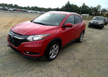 HONDA HR-V EXL 2016 full