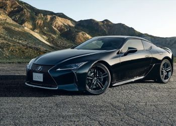 Lexus LC500 Inspiration Series 2021 года обзор