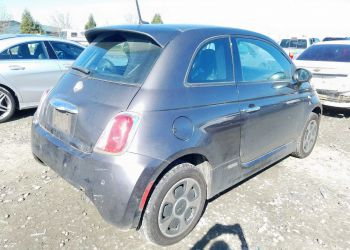 FIAT 500 ELECTRIC 2014 full