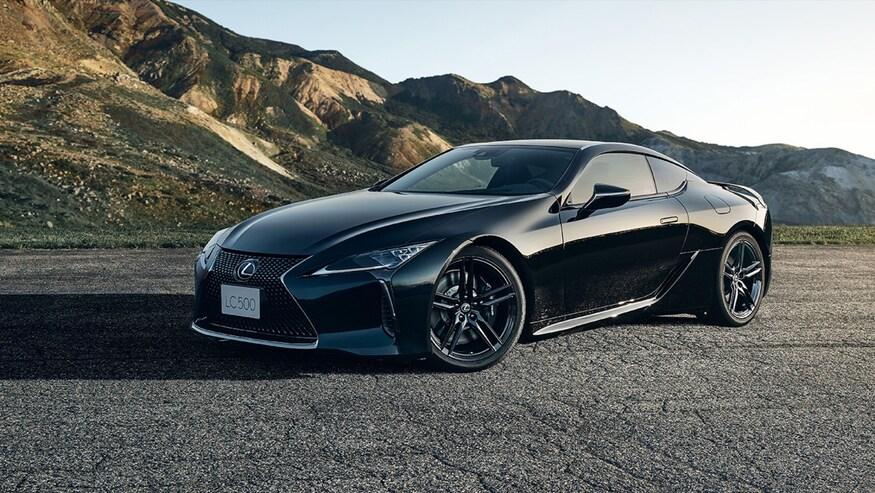 Lexus LC500 Inspiration Series 2021 года обзор