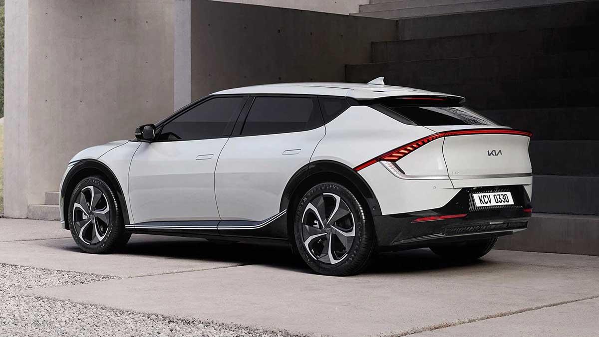 электрокар Kia EV6 2021 описание