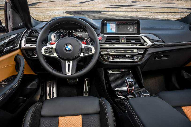 BMW X3 М 2021 интерьер