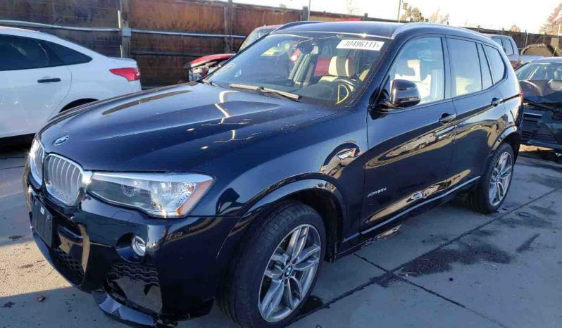 BMW X3 XDRIVE 28D 2015 full