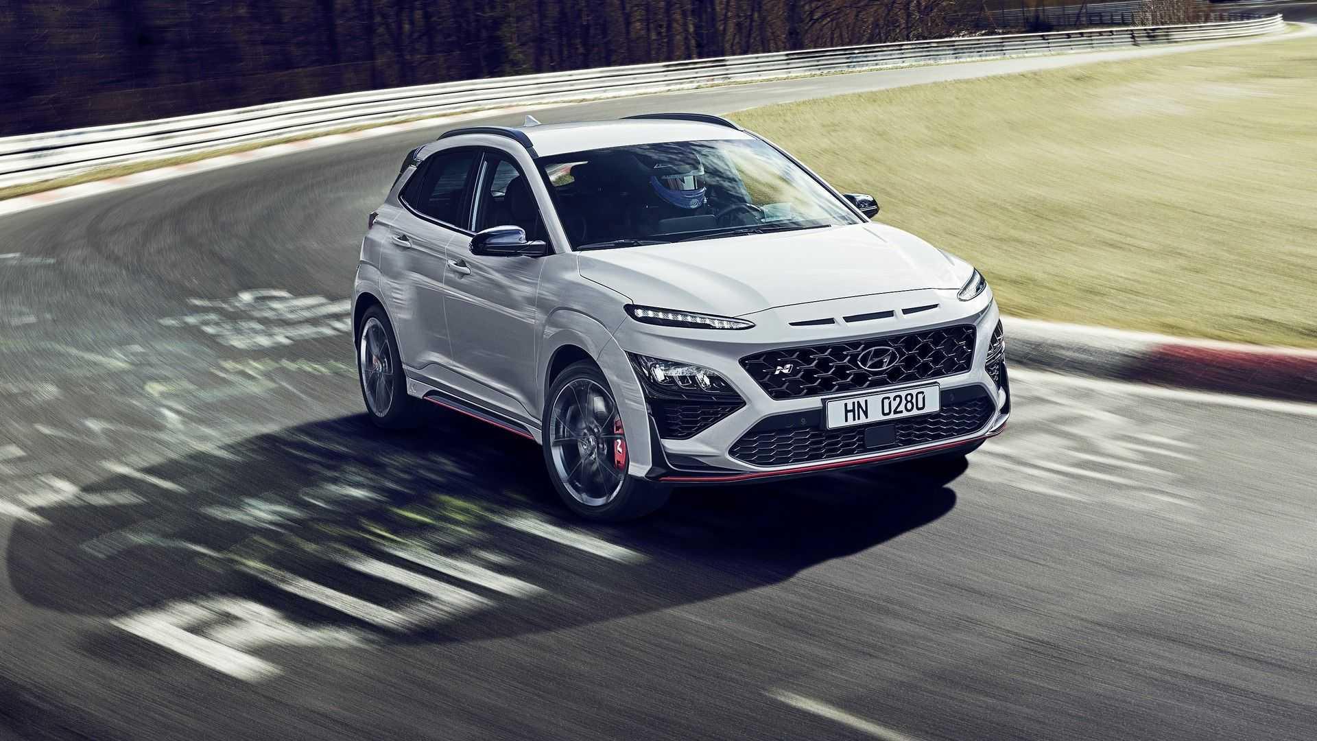 Hyundai Kona N 2022 года характеристики
