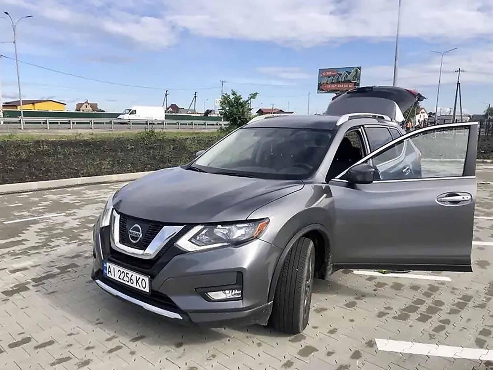 Nissan Rogue 2017 из США в Украине
