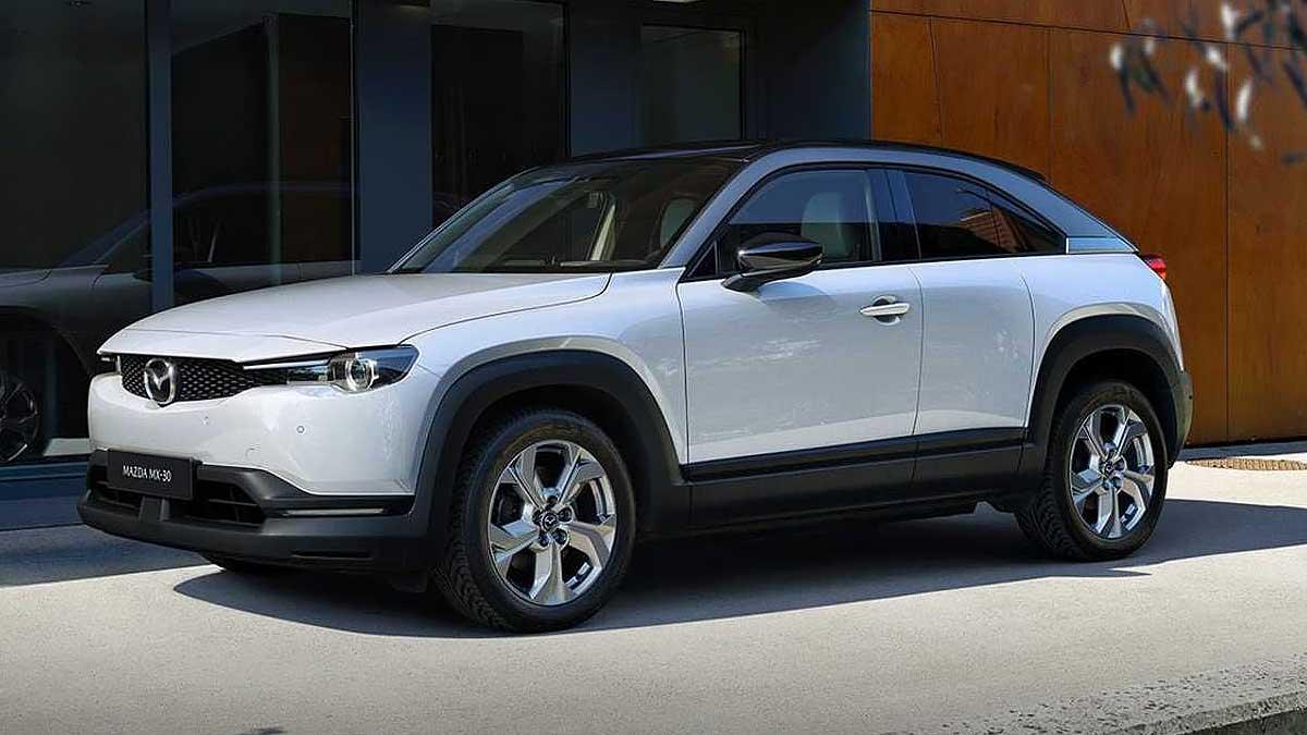Mazda MX-30 2022 года