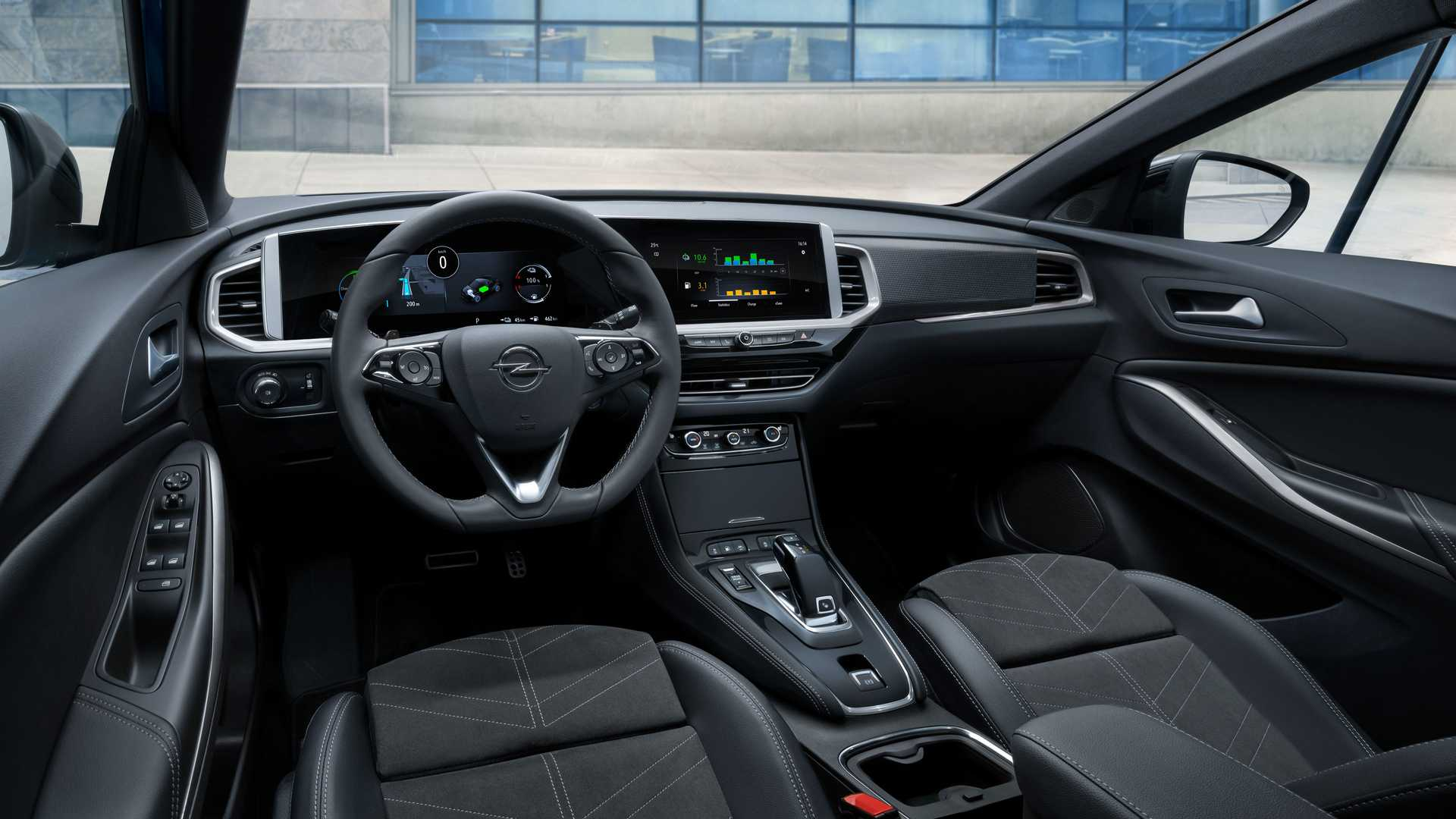 Opel Grandland 2022 года салон